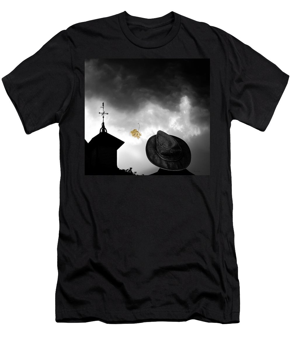 Homecoming Men's T-Shirt (Athletic Fit) featuring the photograph Light In The Window by Bob Orsillo