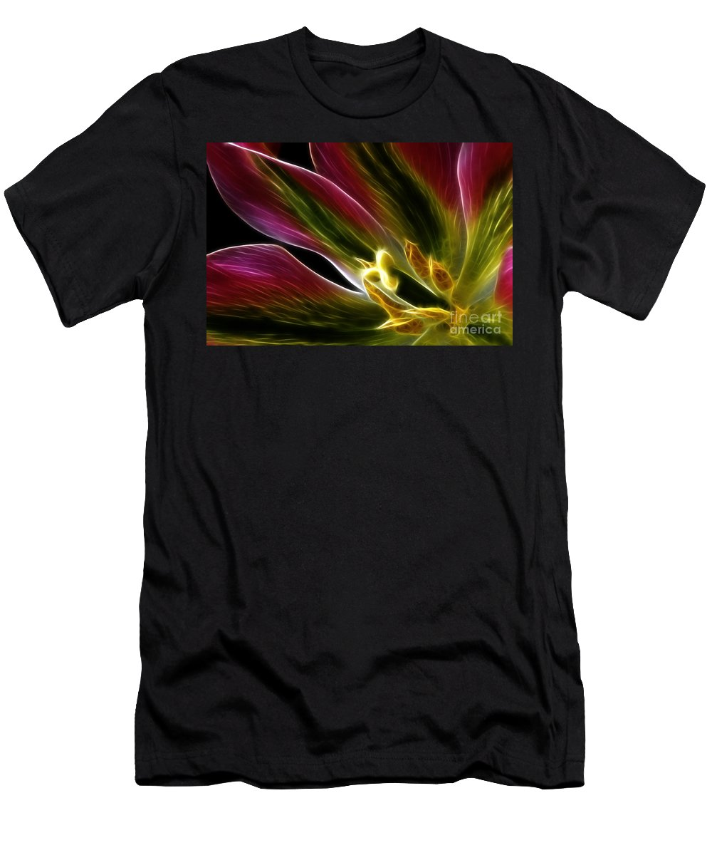 Lily Men's T-Shirt (Athletic Fit) featuring the photograph Lily Of My Dreams by Bob Christopher