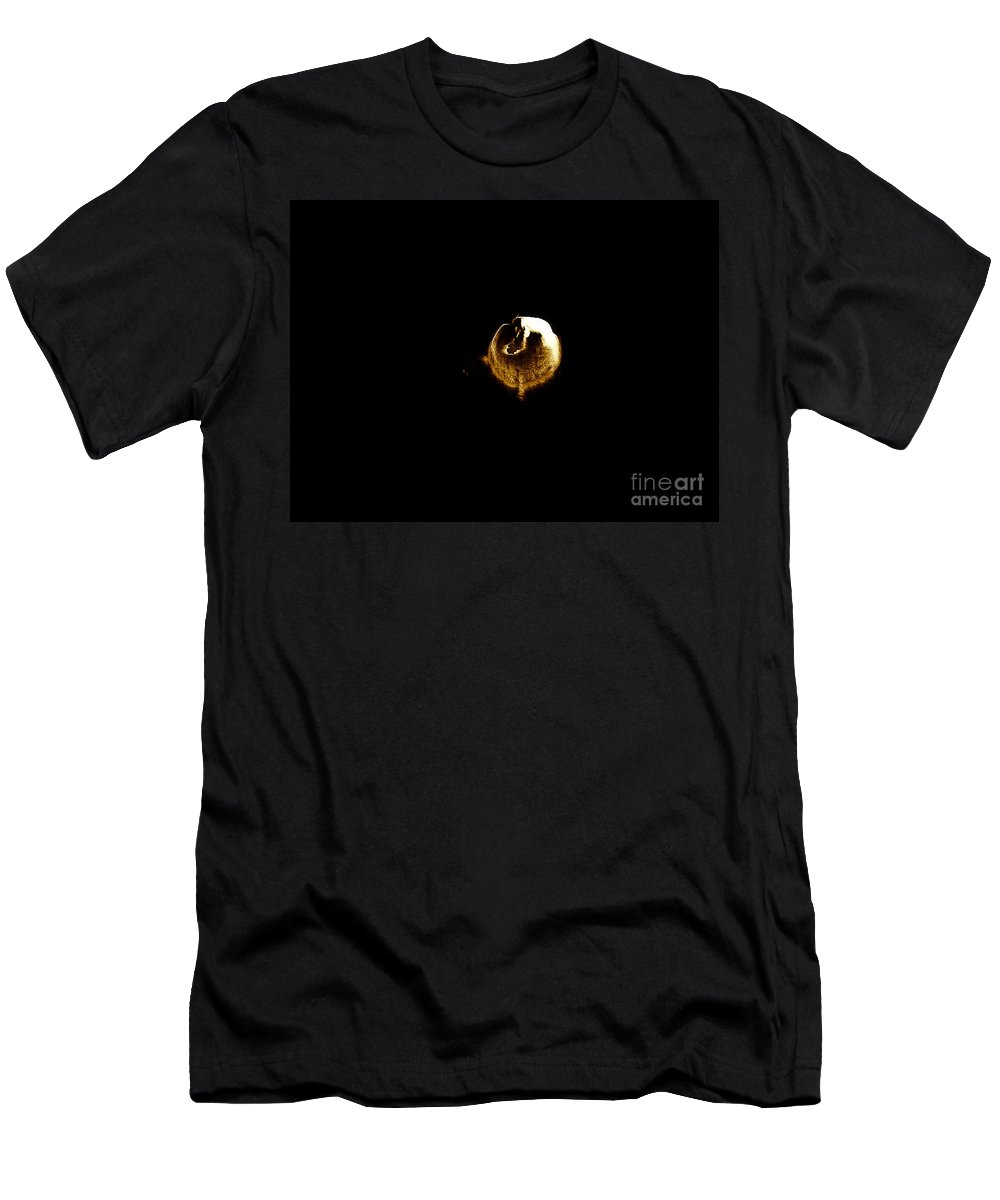 Abstract Men's T-Shirt (Athletic Fit) featuring the digital art Longing by Fei A