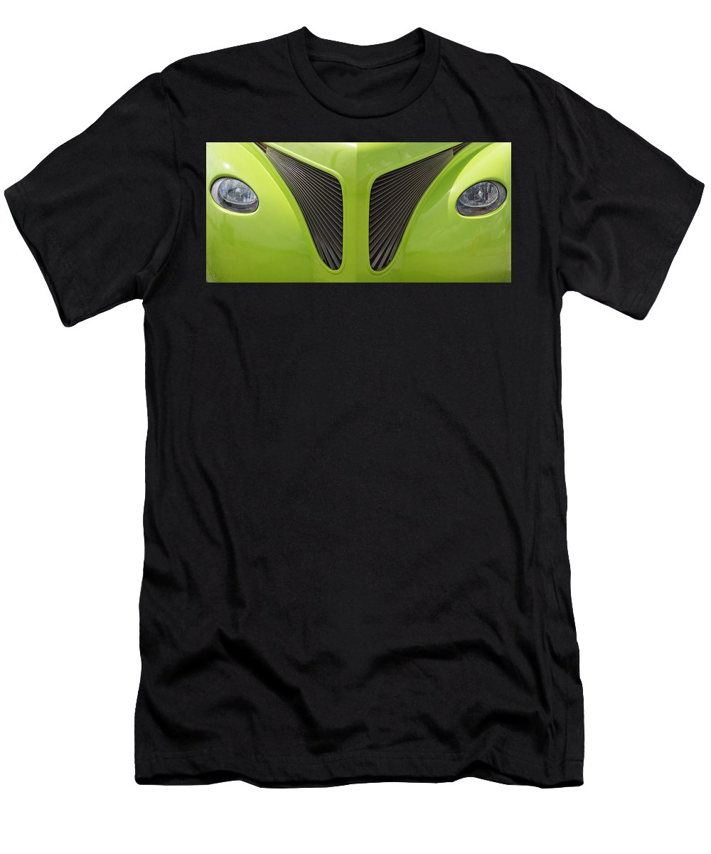Car Men's T-Shirt (Athletic Fit) featuring the photograph Look Into My Eyes by Guy Shultz