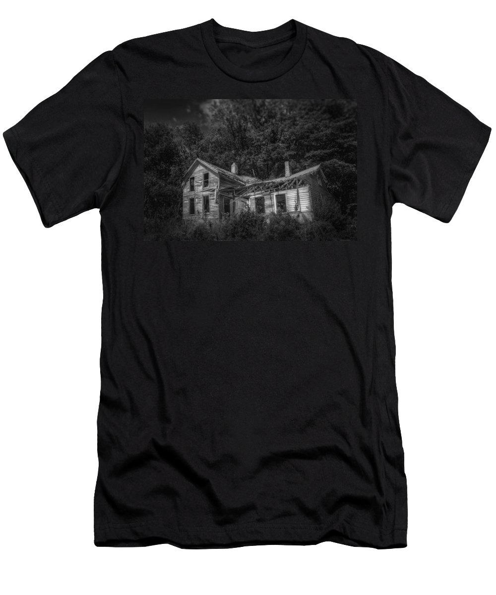 House Men's T-Shirt (Athletic Fit) featuring the photograph Lost And Alone by Scott Norris