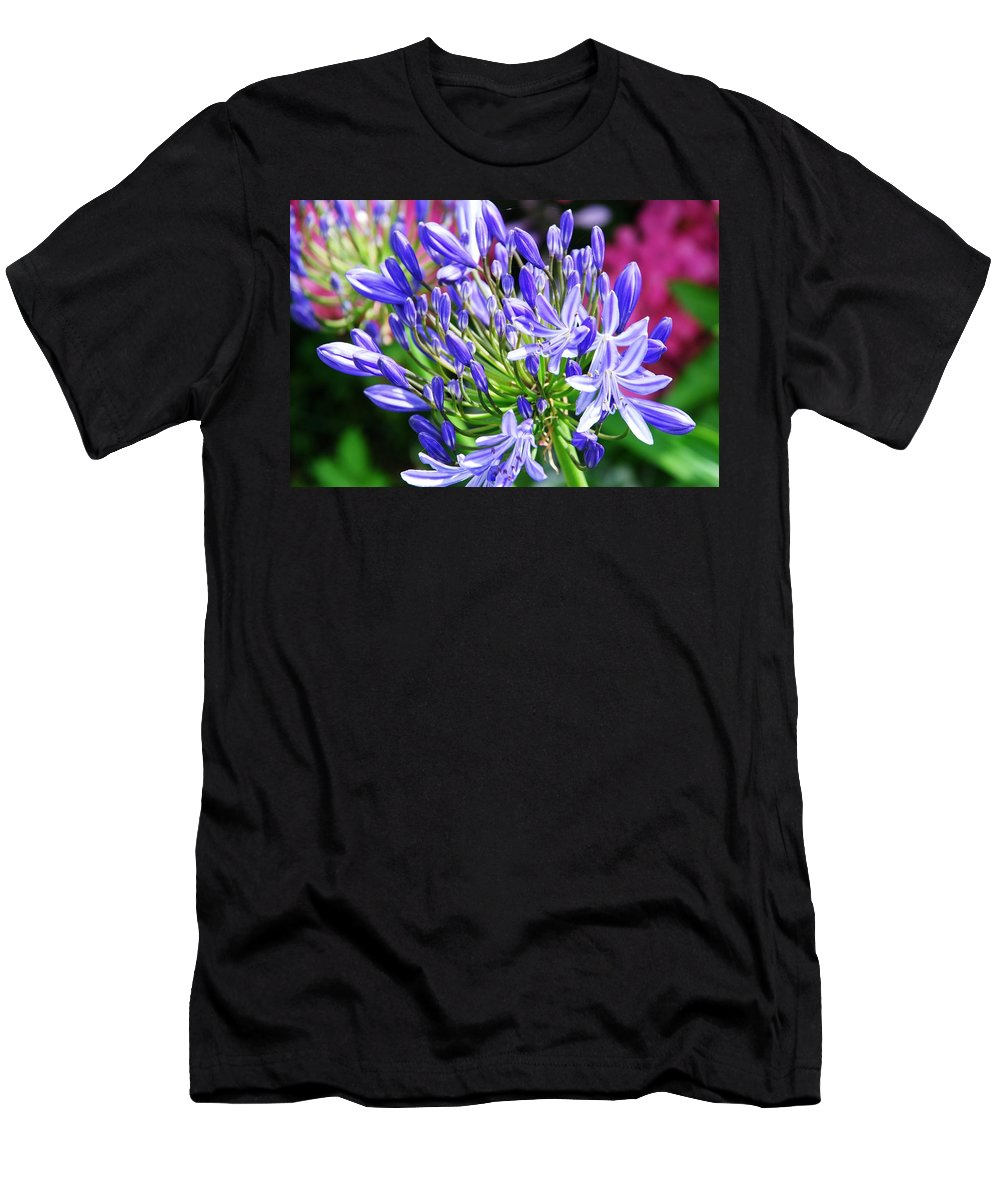Purple Men's T-Shirt (Athletic Fit) featuring the photograph Lovely Lavender by Charlie and Norma Brock
