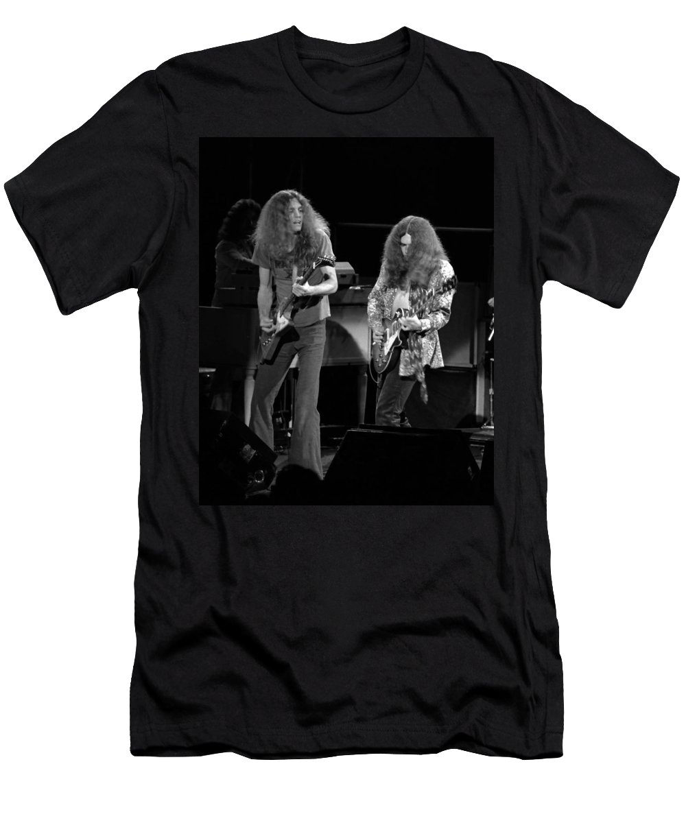Lynyrd Skynyrd Men's T-Shirt (Athletic Fit) featuring the photograph Ls Spo #21 Crop 4 by Ben Upham