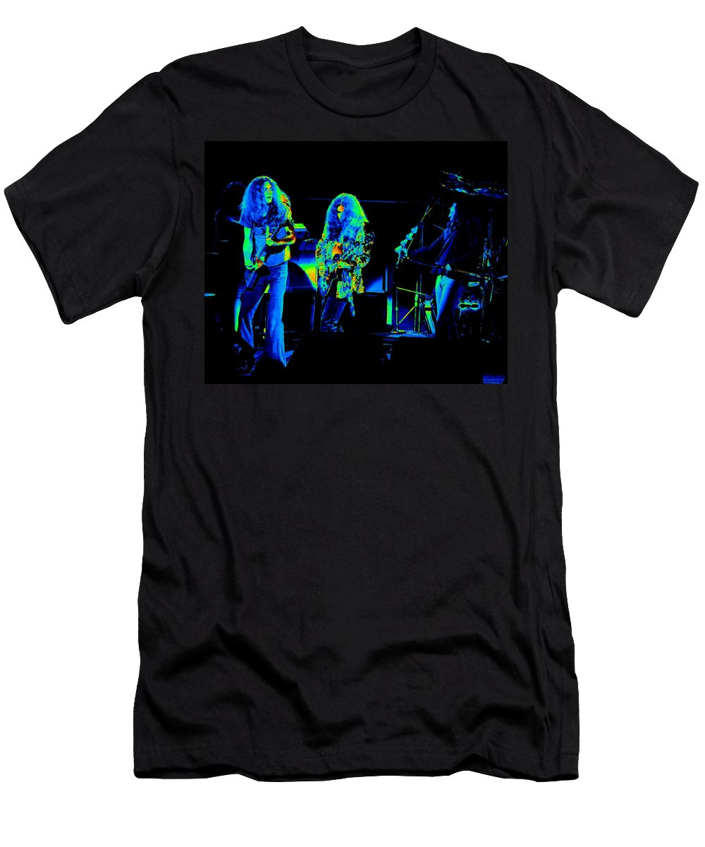 Lynyrd Skynyrd Men's T-Shirt (Athletic Fit) featuring the photograph Ls Spo #21 In Cosmicolors by Ben Upham