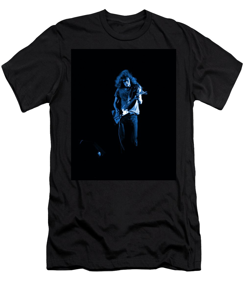 Allen Collins Men's T-Shirt (Athletic Fit) featuring the photograph Ls Spo #25 In Blue by Ben Upham