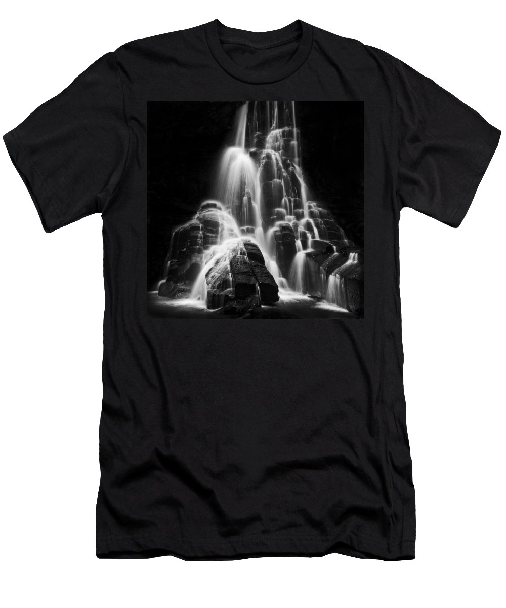 Michele Men's T-Shirt (Athletic Fit) featuring the photograph Luminous Waters I by Michele Steffey