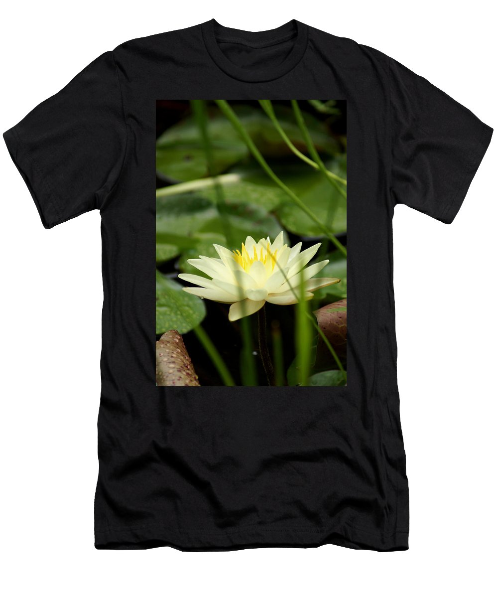 A Fragrant Lust Men's T-Shirt (Athletic Fit) featuring the photograph Lust by Kim Pate