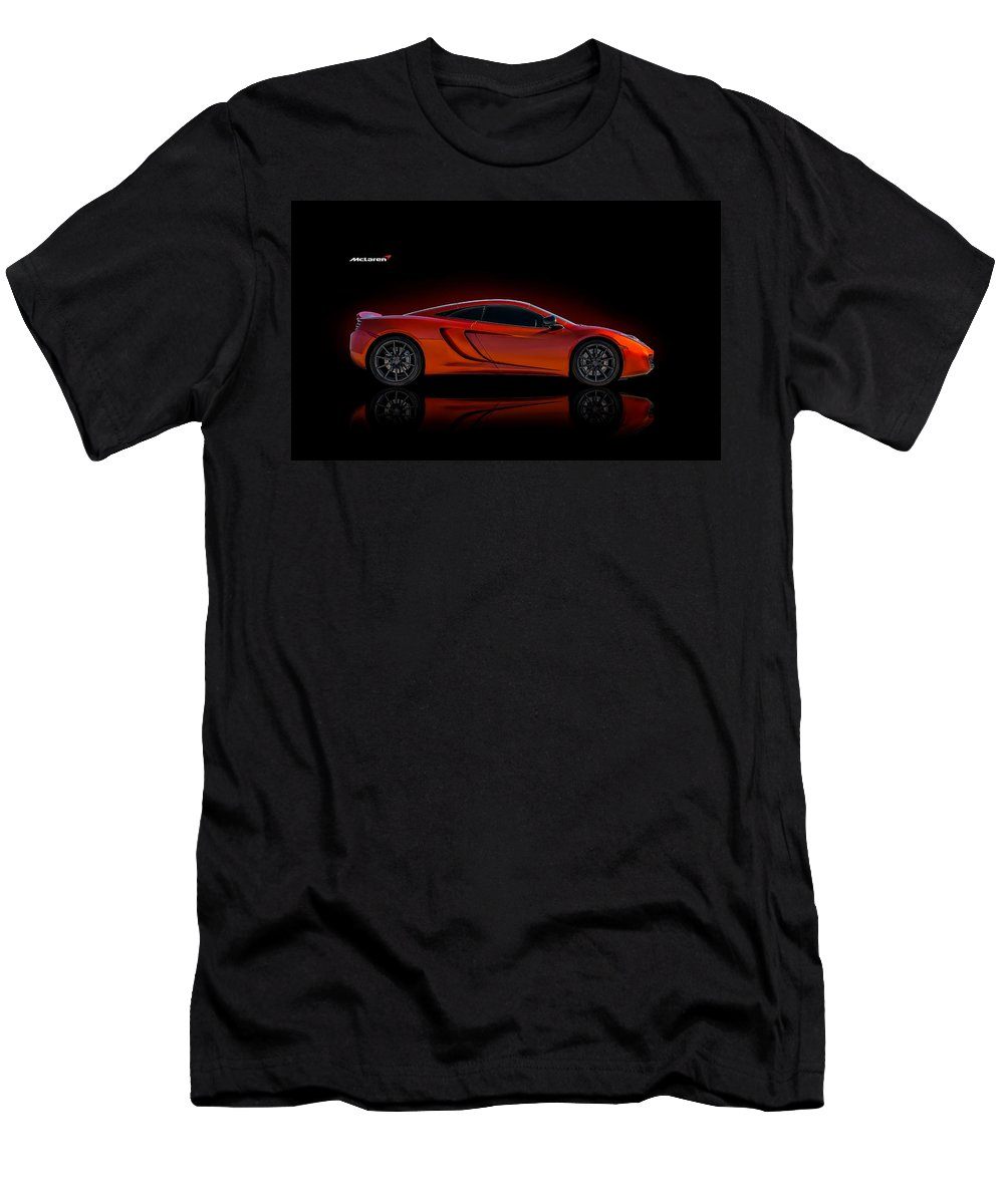 Mclaren Men's T-Shirt (Athletic Fit) featuring the digital art Mac Daddy by Douglas Pittman