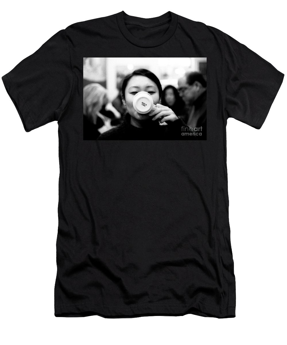 Analog Men's T-Shirt (Athletic Fit) featuring the photograph Made In China by Jannis Werner