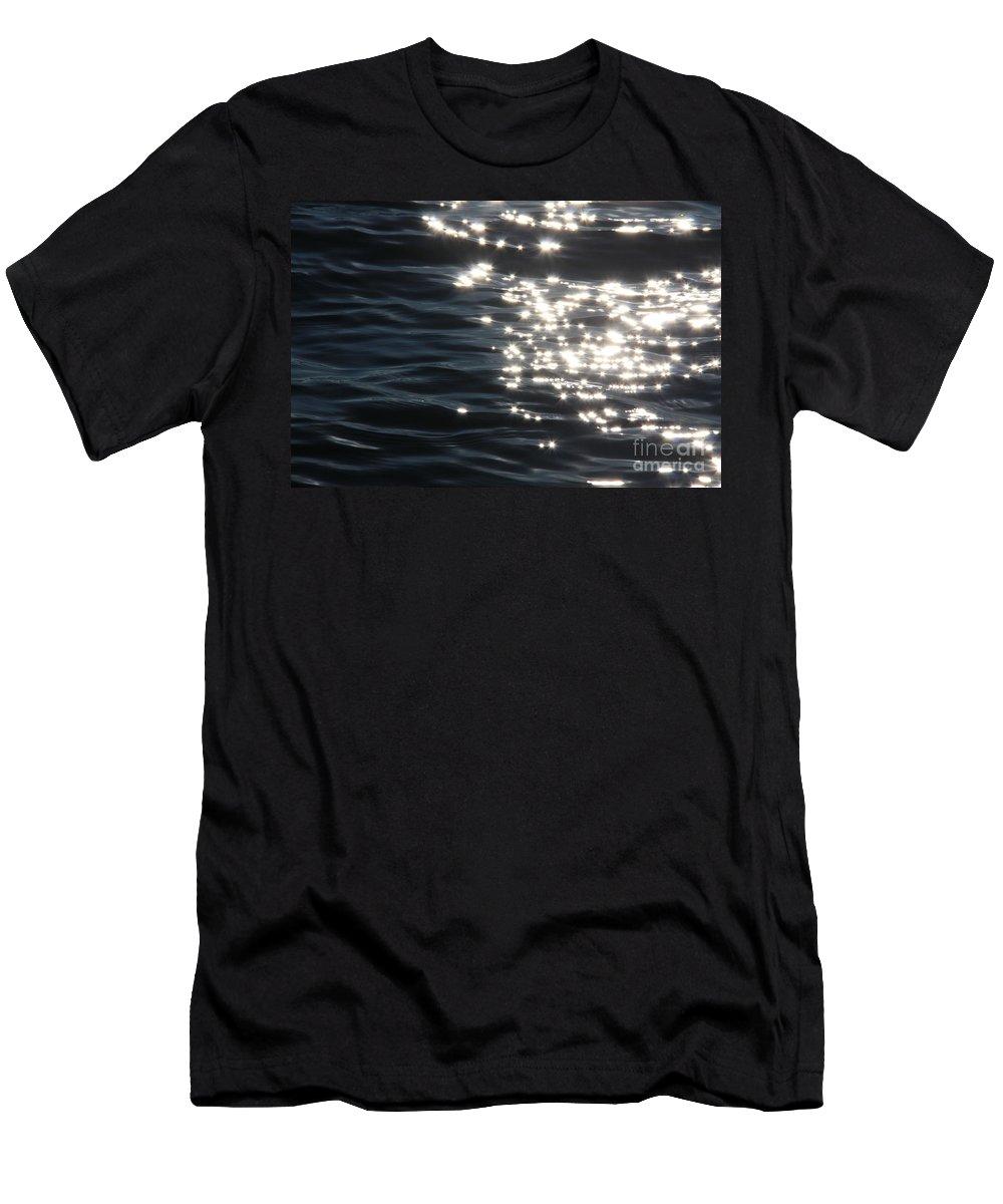 Star Men's T-Shirt (Athletic Fit) featuring the photograph Make A Wish by Jolanta Anna Karolska