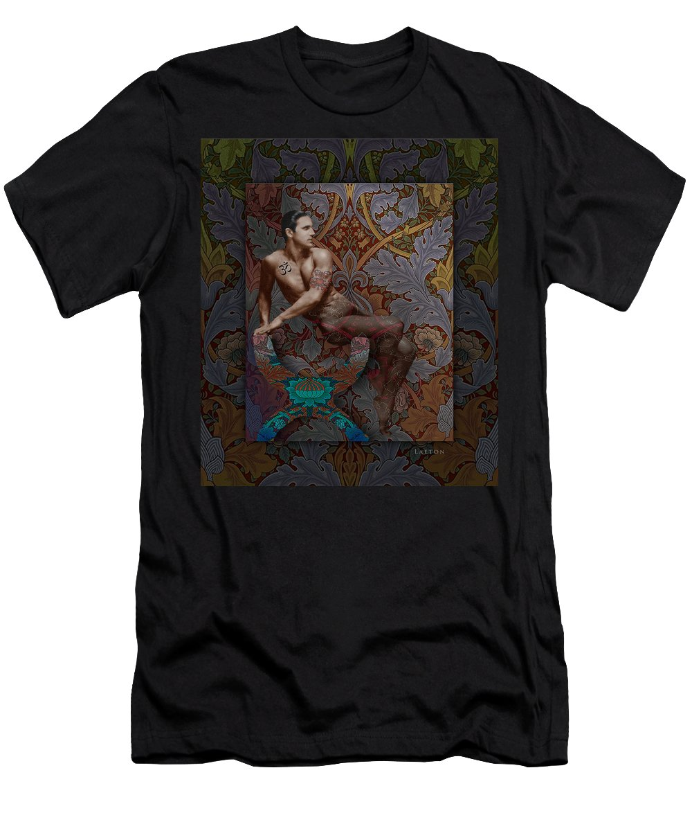 Tony Sansone Men's T-Shirt (Athletic Fit) featuring the photograph Reawakening by Richard Laeton