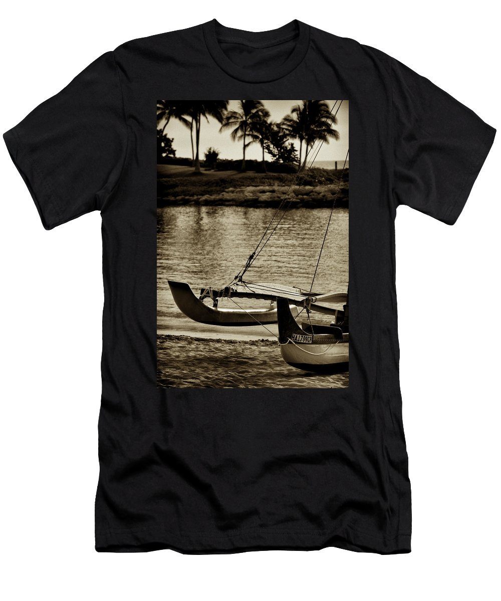 Malia Men's T-Shirt (Athletic Fit) featuring the photograph Malia V2 by Douglas Barnard