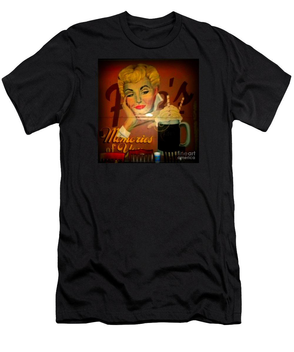 Men's T-Shirt (Athletic Fit) featuring the photograph Marilyn And Fitz's by Kelly Awad