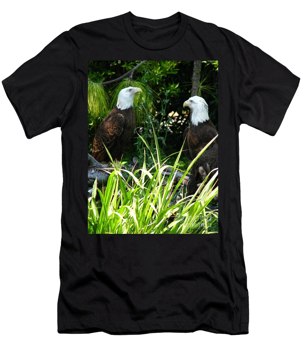Patzer Men's T-Shirt (Athletic Fit) featuring the photograph Mates by Greg Patzer