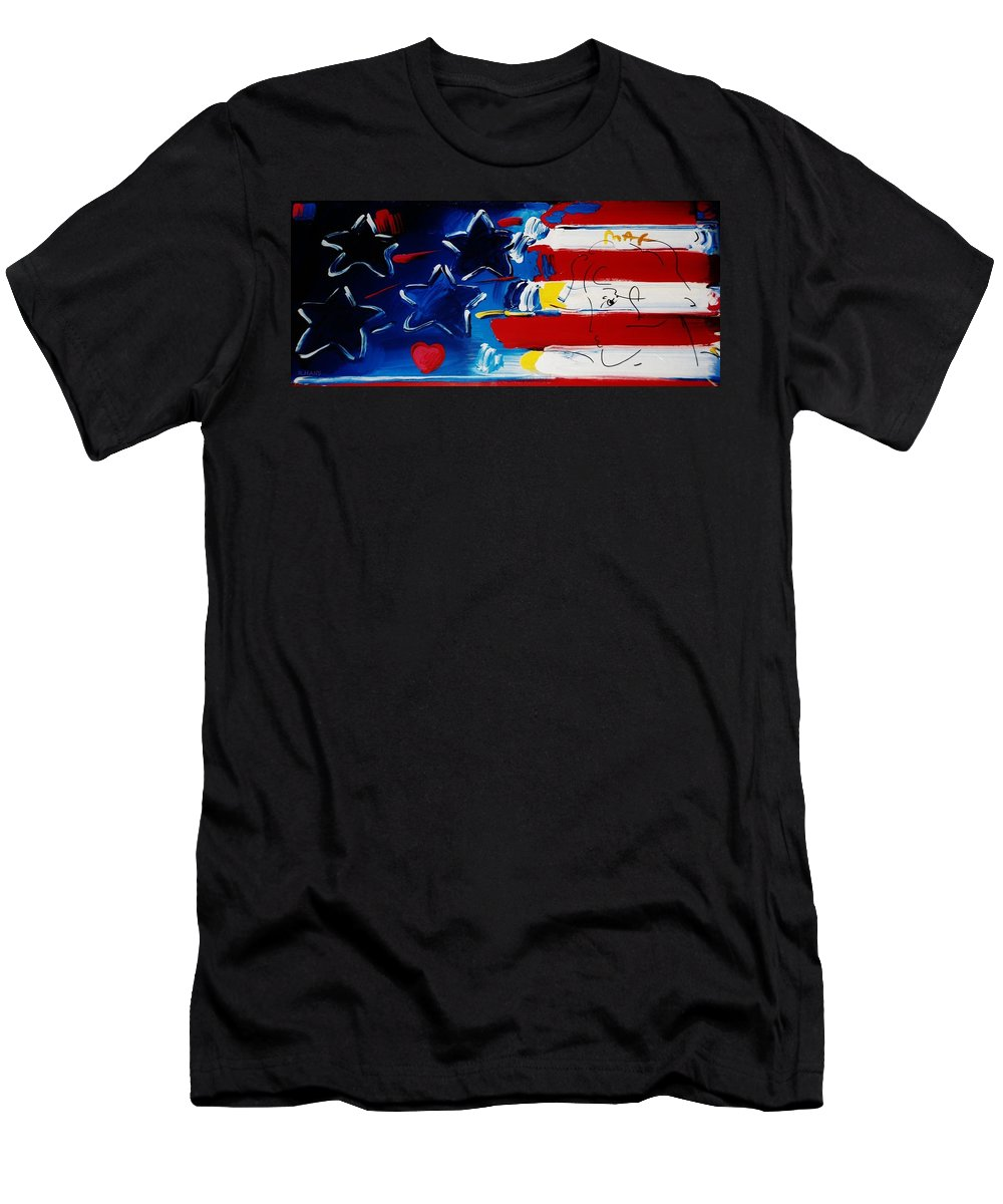 Modern Men's T-Shirt (Athletic Fit) featuring the photograph Max Americana by Rob Hans
