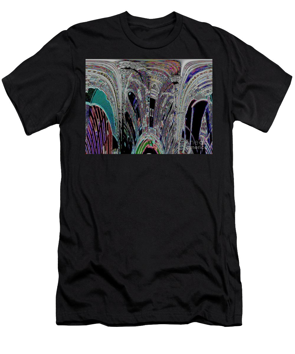 Men's T-Shirt (Athletic Fit) featuring the photograph Melting Pot by Kelly Awad