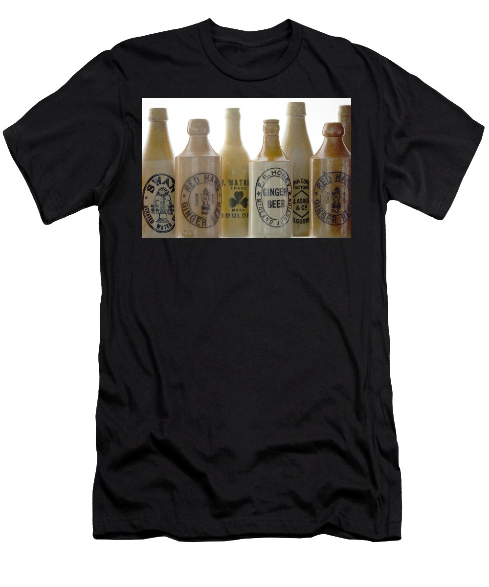 Bottle T-Shirt featuring the photograph Memories in a Bottle by Holly Kempe