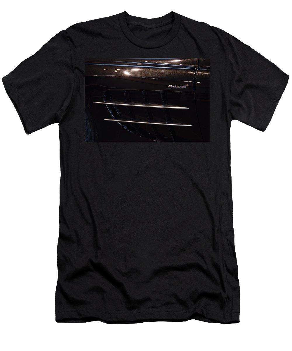 Automobiles Men's T-Shirt (Athletic Fit) featuring the photograph Mercedes Benz Mclaren by John Schneider