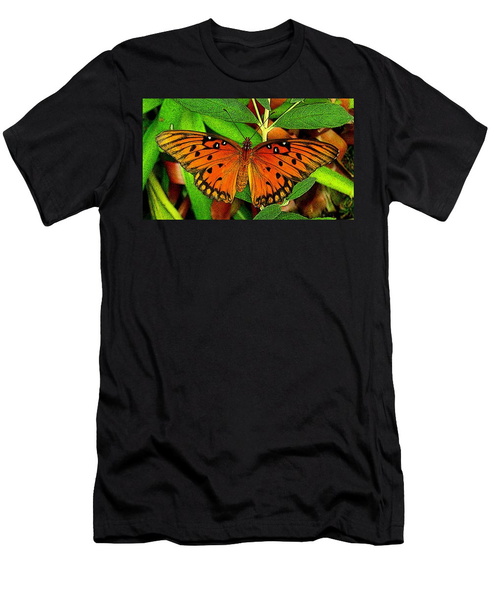 Fine Art Men's T-Shirt (Athletic Fit) featuring the photograph Metamorphosis by Rodney Lee Williams