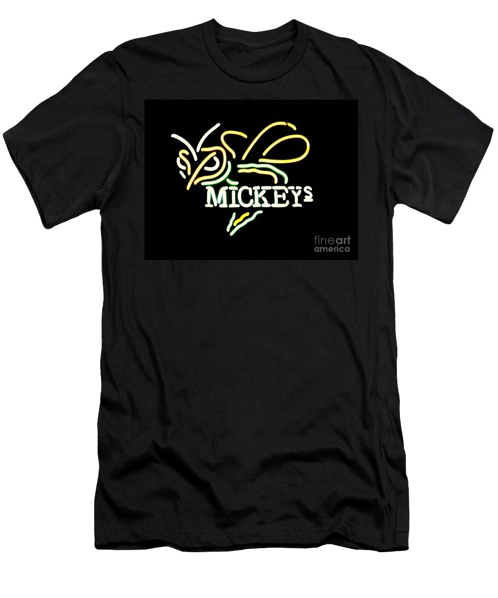 Men's T-Shirt (Athletic Fit) featuring the photograph Mickeys by Kelly Awad