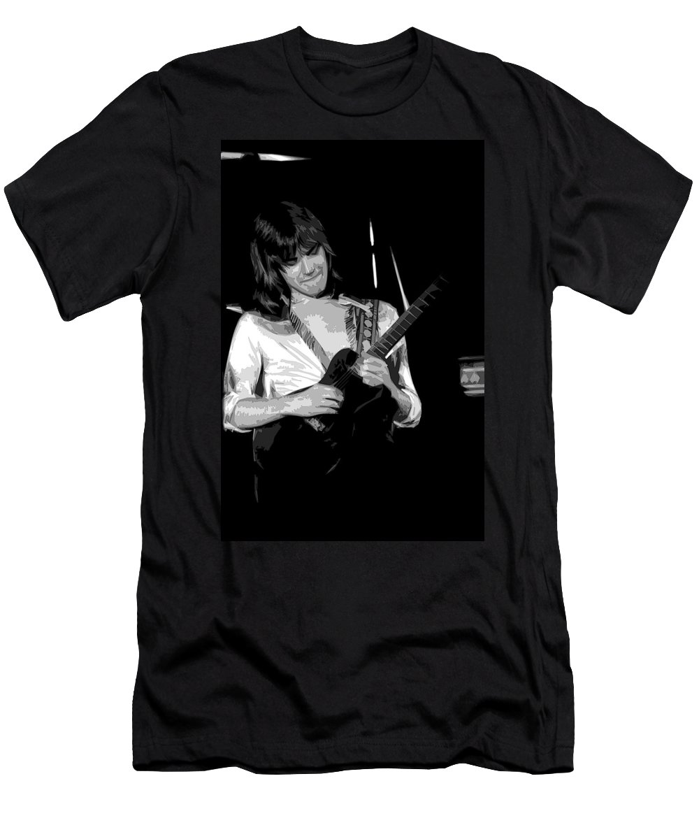 Head East Men's T-Shirt (Athletic Fit) featuring the photograph Mike Somerville Art 1 by Ben Upham