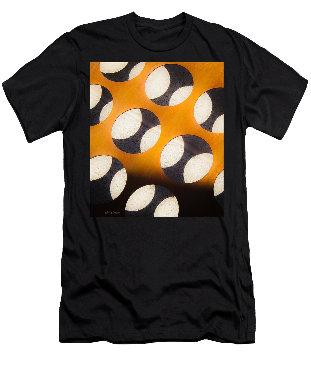 Abstracts Men's T-Shirt (Athletic Fit) featuring the photograph Mind - Hemispheres by Steven Milner