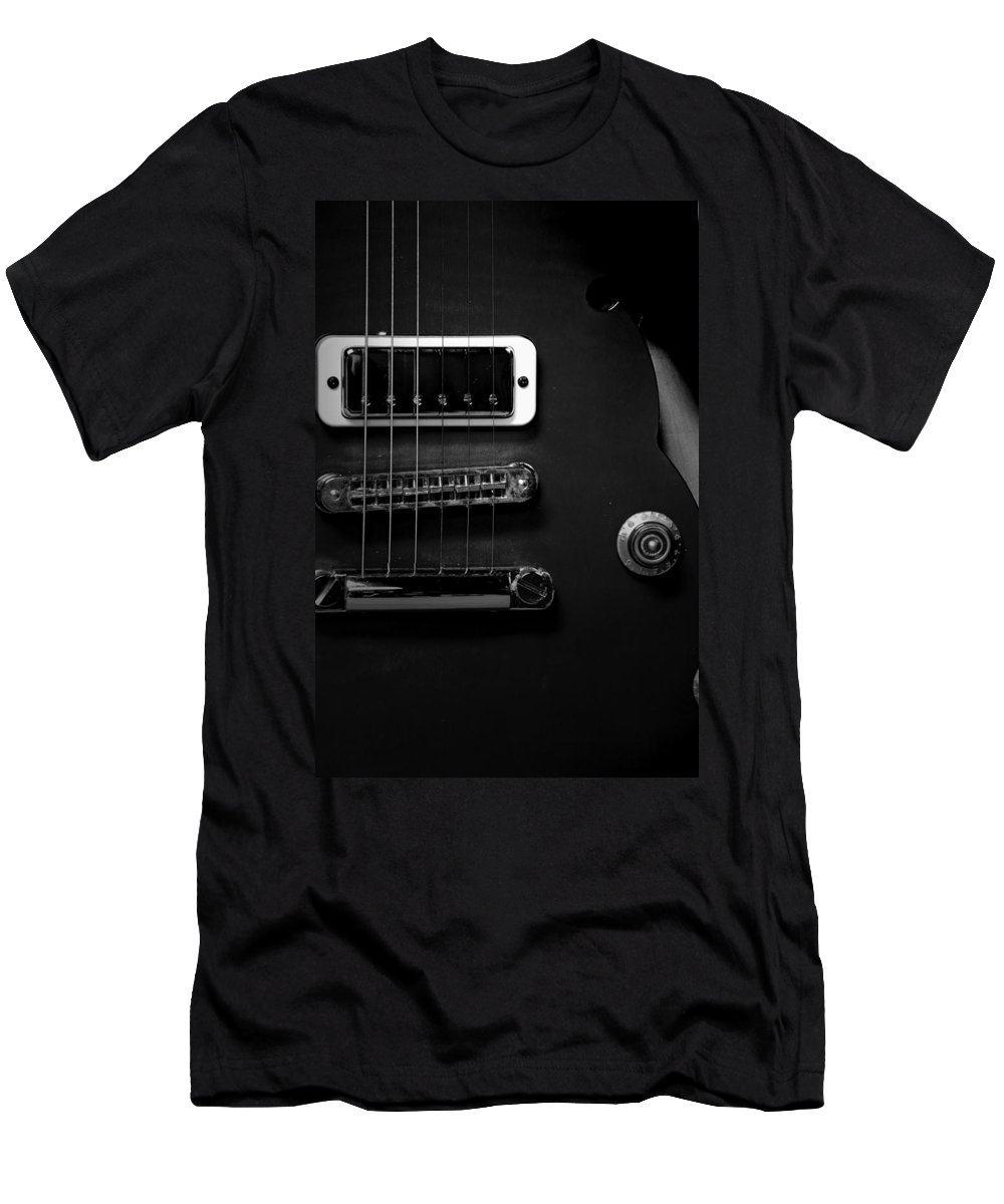 Yamaha Men's T-Shirt (Athletic Fit) featuring the photograph Monochrome Yamaha 3 by David Weeks