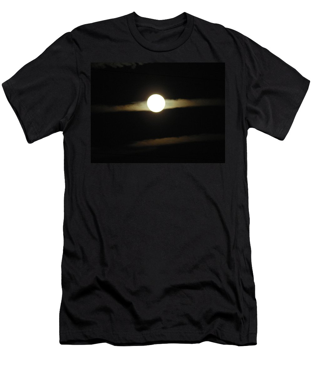 Moon Men's T-Shirt (Athletic Fit) featuring the photograph Moon Glow by George Pedro