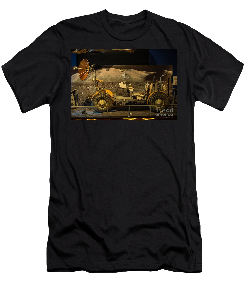 Boeing Men's T-Shirt (Athletic Fit) featuring the photograph Moon Rover by Rich Priest