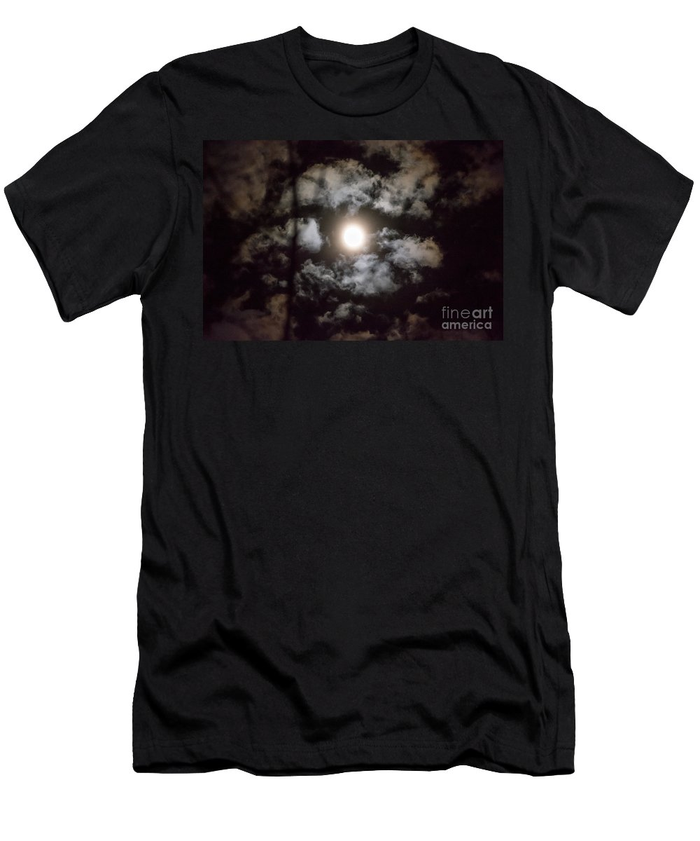 Men's T-Shirt (Athletic Fit) featuring the photograph Moonlight by Cheryl Baxter