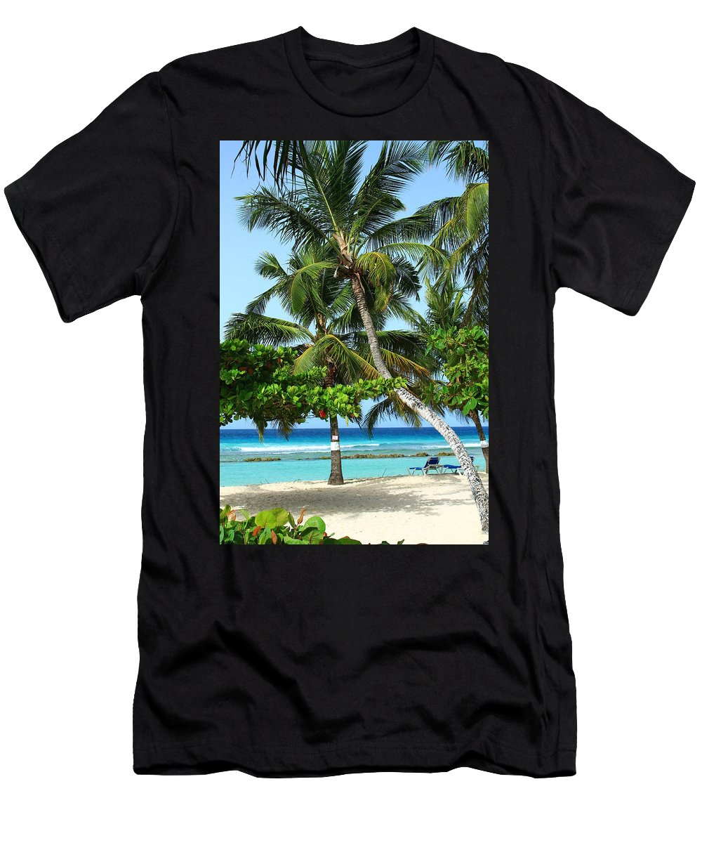 Barbados Men's T-Shirt (Athletic Fit) featuring the photograph Morning Beauty by Catie Canetti