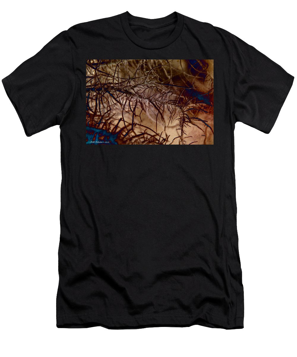 Moss Men's T-Shirt (Athletic Fit) featuring the photograph Mossier 4 by WB Johnston