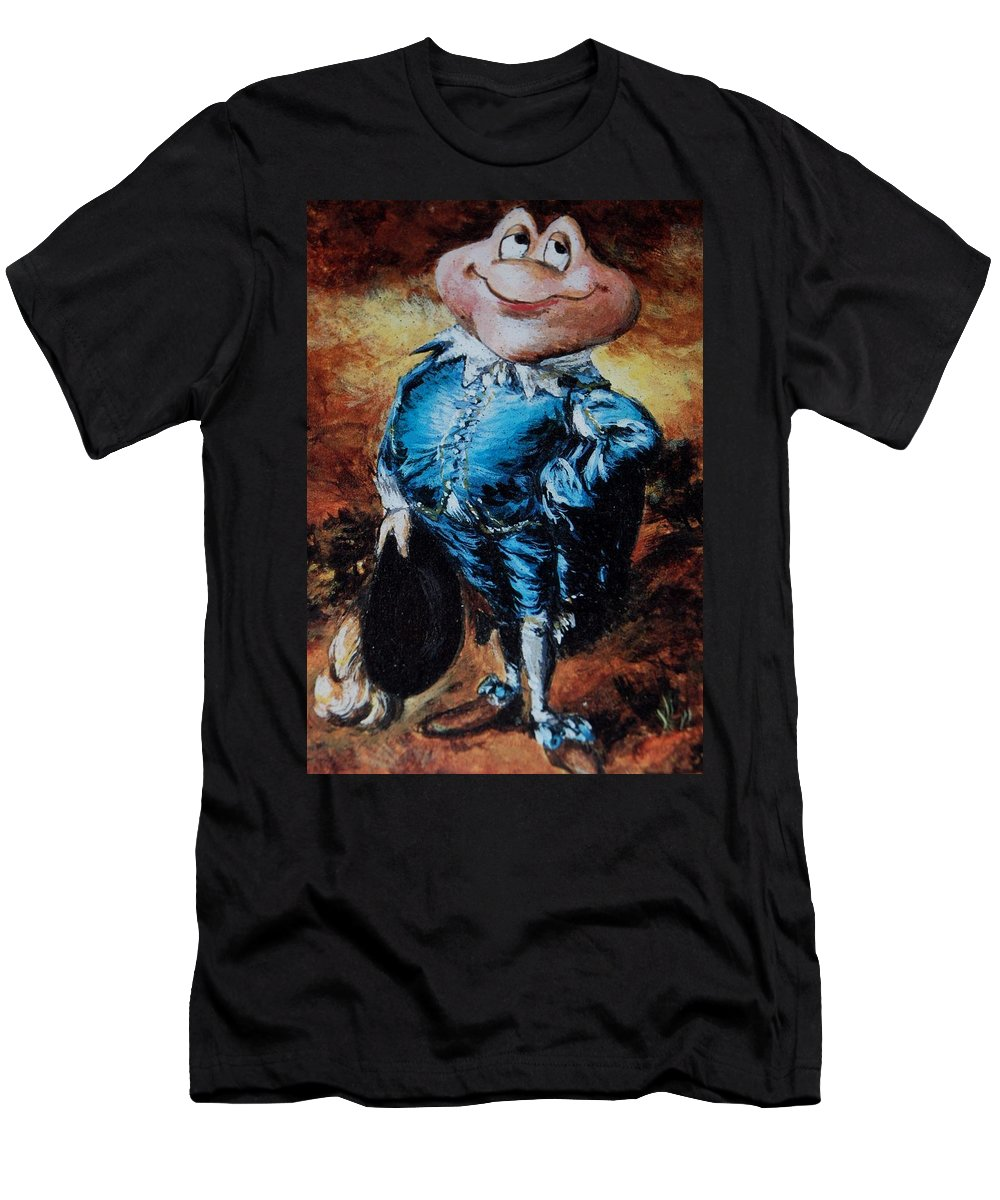 Mr Toad Men's T-Shirt (Athletic Fit) featuring the photograph Mr Toad by Rob Hans