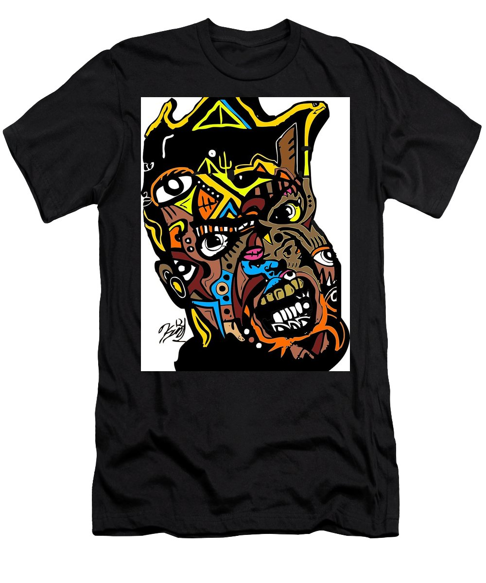 Men's T-Shirt (Athletic Fit) featuring the digital art Mr.khem by Kamoni Khem