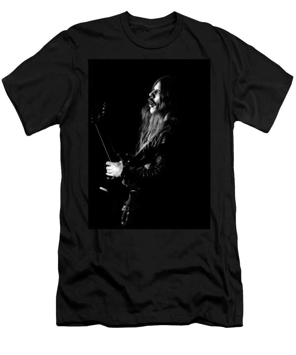Mahogany Rush Men's T-Shirt (Athletic Fit) featuring the photograph Mrush #12 by Ben Upham