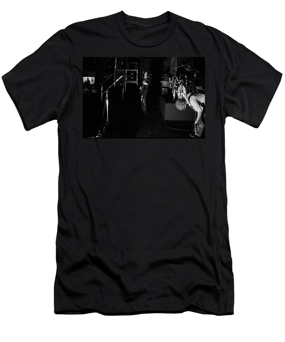 Mahogany Rush Men's T-Shirt (Athletic Fit) featuring the photograph Mrush #34 by Ben Upham