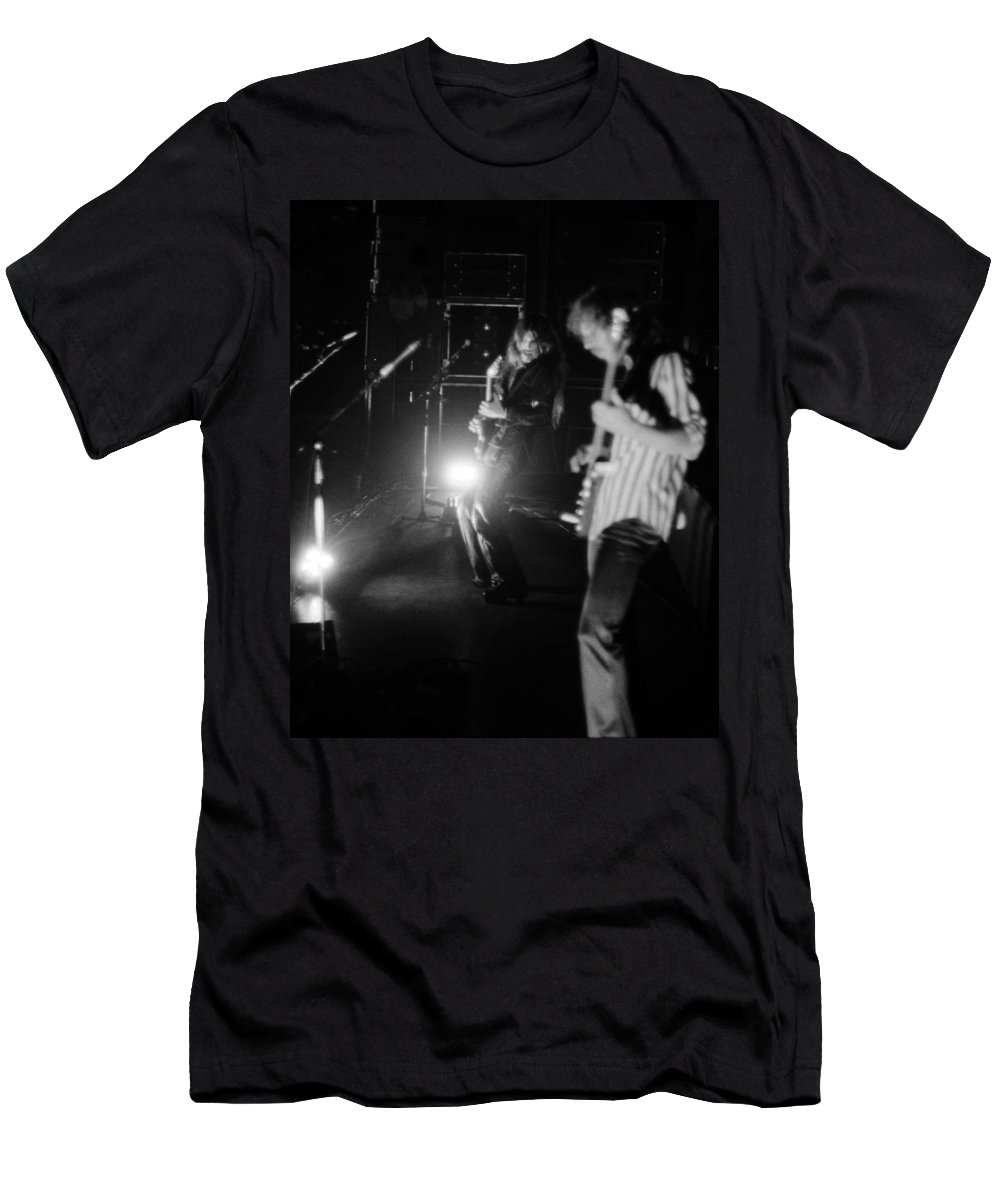 Mahogany Rush Men's T-Shirt (Athletic Fit) featuring the photograph Mrush #35 by Ben Upham
