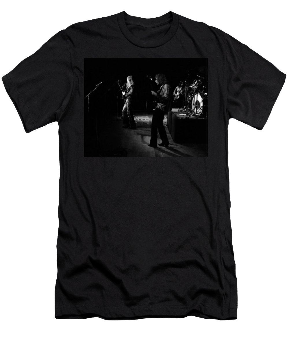 Mahogany Rush Men's T-Shirt (Athletic Fit) featuring the photograph Mrush #9 by Ben Upham