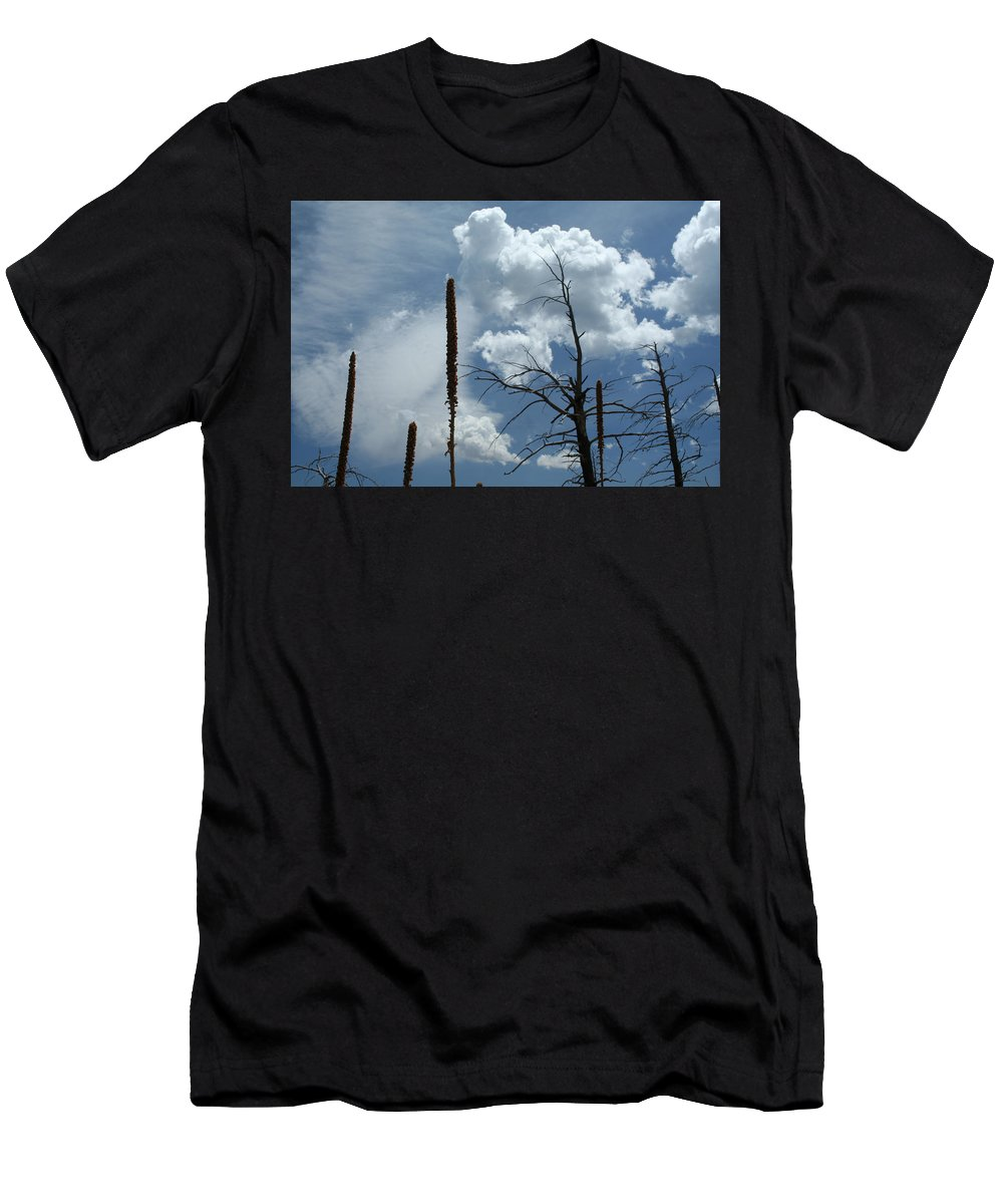 Nature Men's T-Shirt (Athletic Fit) featuring the photograph Mulling It Over by Ric Bascobert
