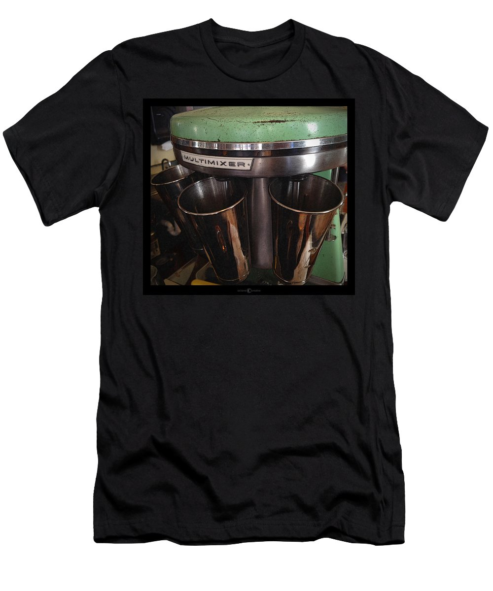 Multimixer Men's T-Shirt (Athletic Fit) featuring the photograph Multimixer by Tim Nyberg
