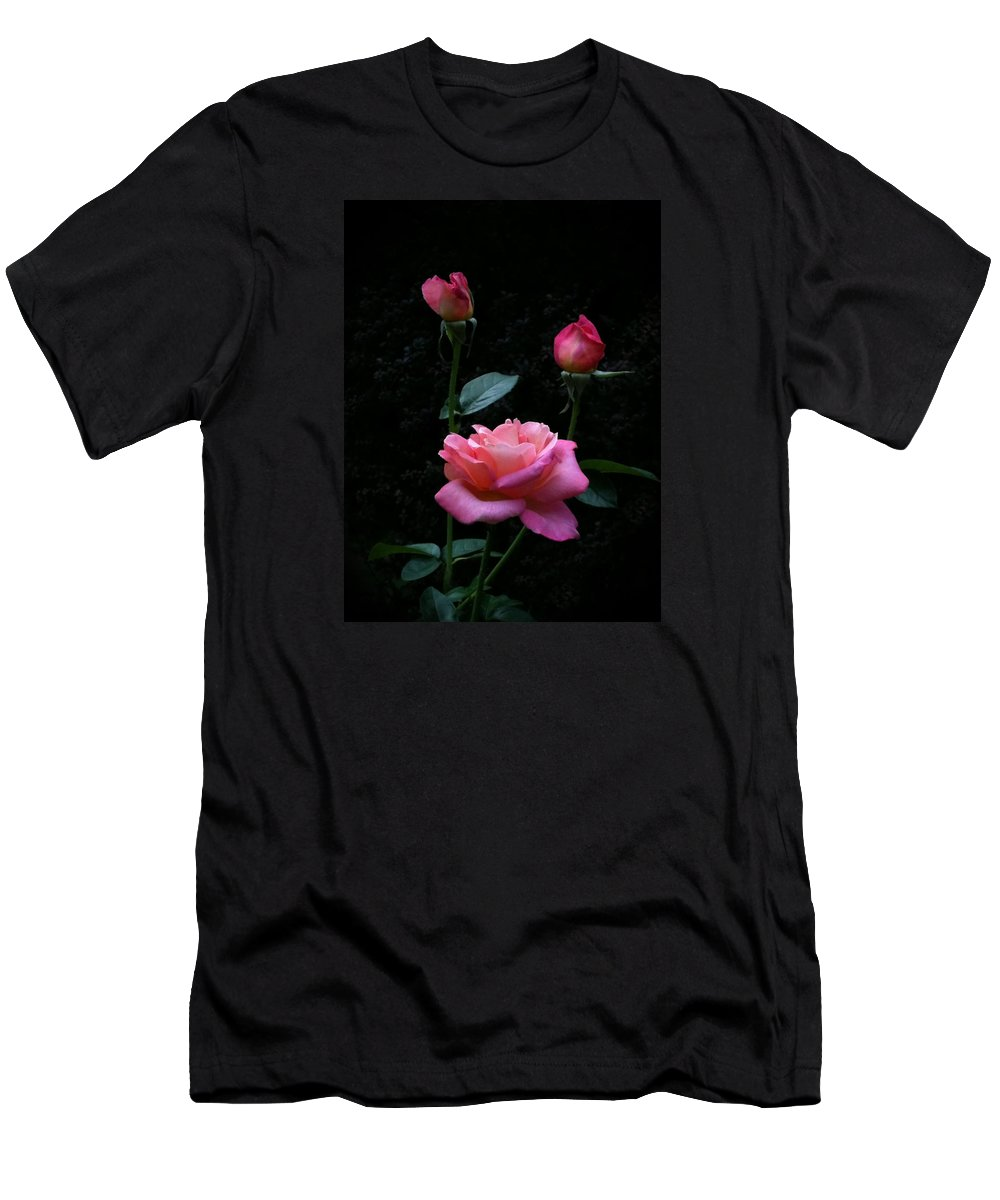 Pink Men's T-Shirt (Athletic Fit) featuring the photograph My Evening Delight by Tammy Garner