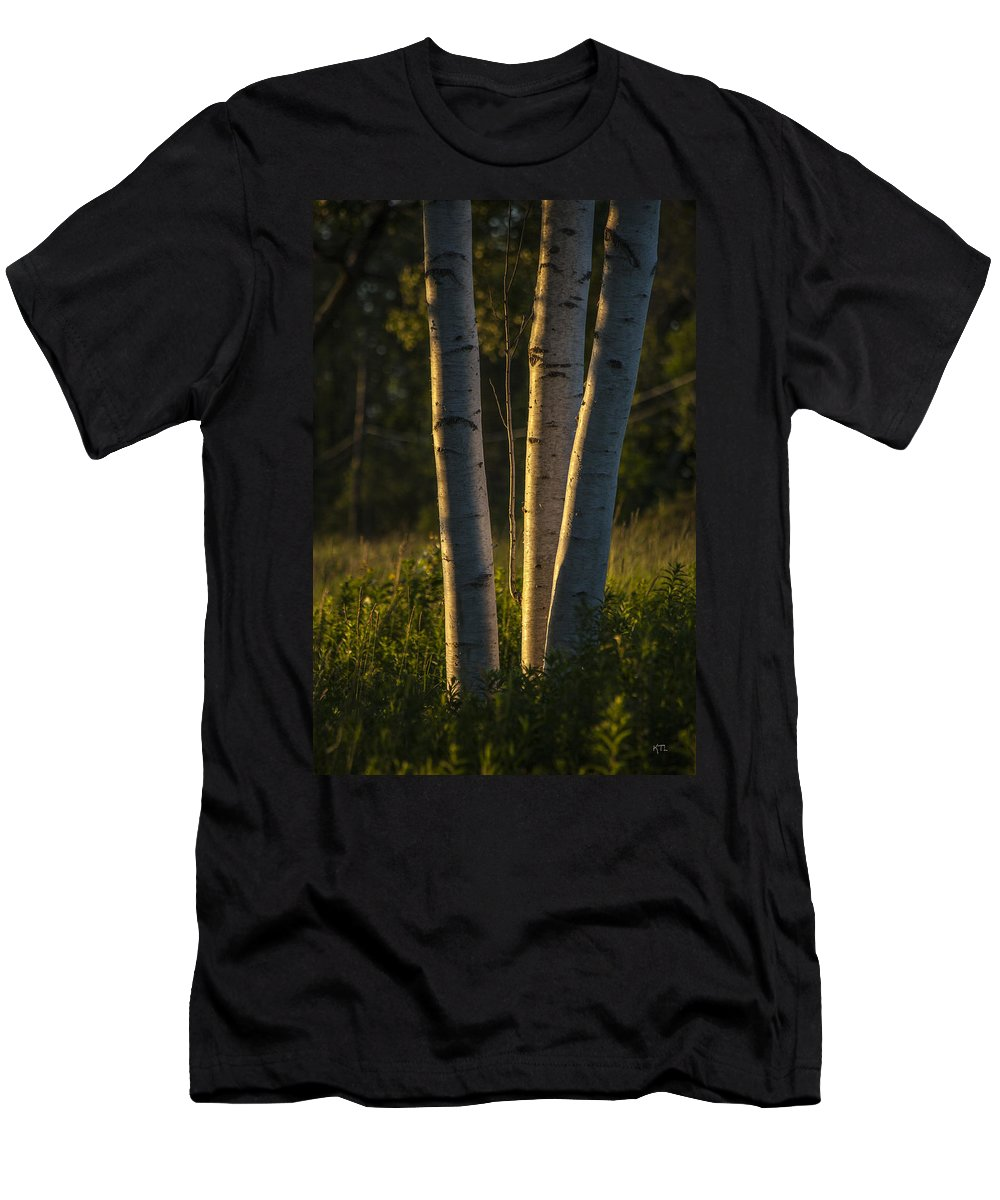 Nature Men's T-Shirt (Athletic Fit) featuring the photograph Natures Glow by Karol Livote