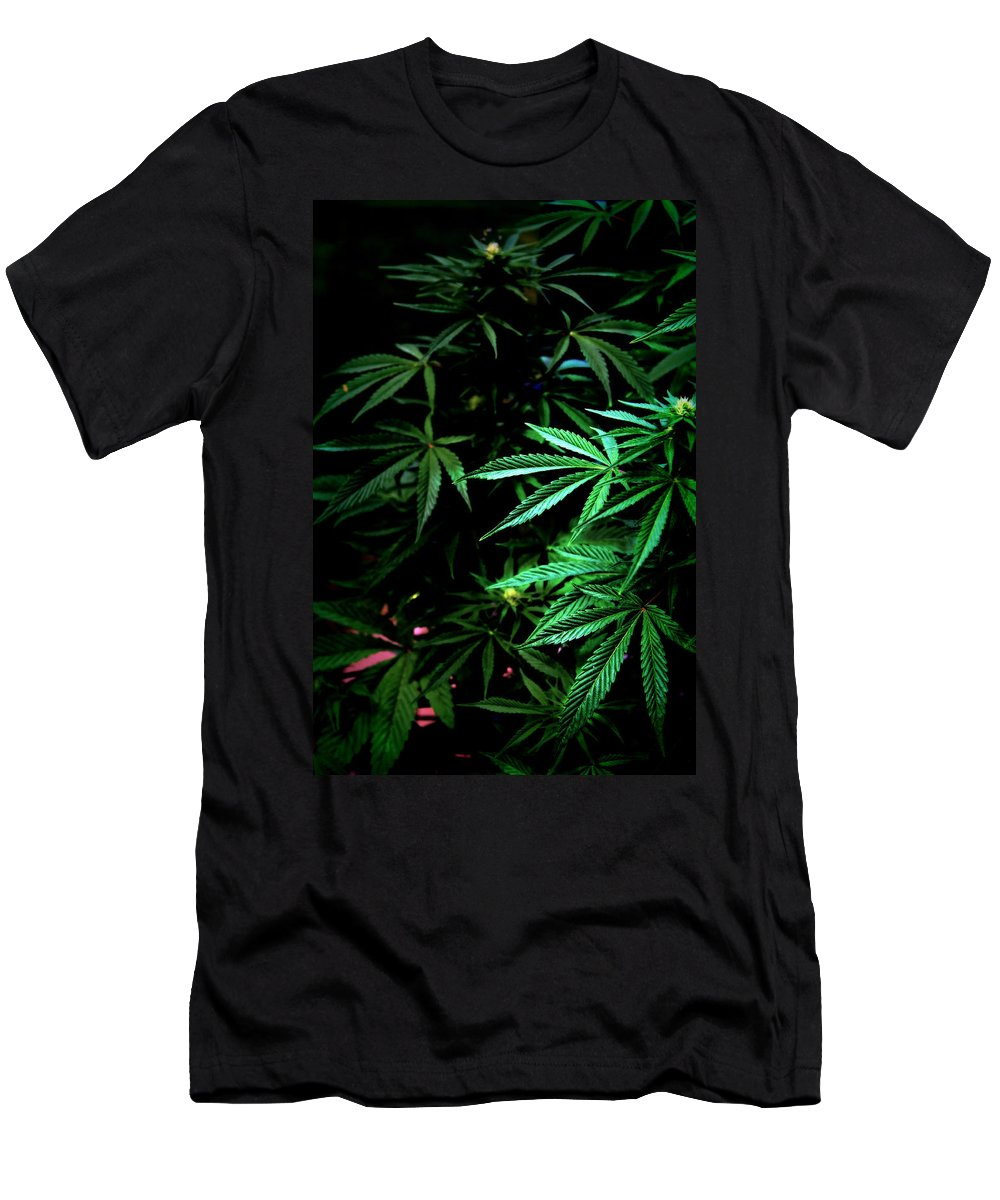 Mmj Men's T-Shirt (Athletic Fit) featuring the photograph Nature's Medicine by Jeanette C Landstrom