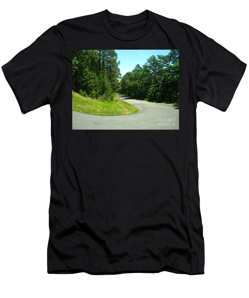Nebo Men's T-Shirt (Athletic Fit) featuring the photograph Nebo Turn by Nathanael Smith