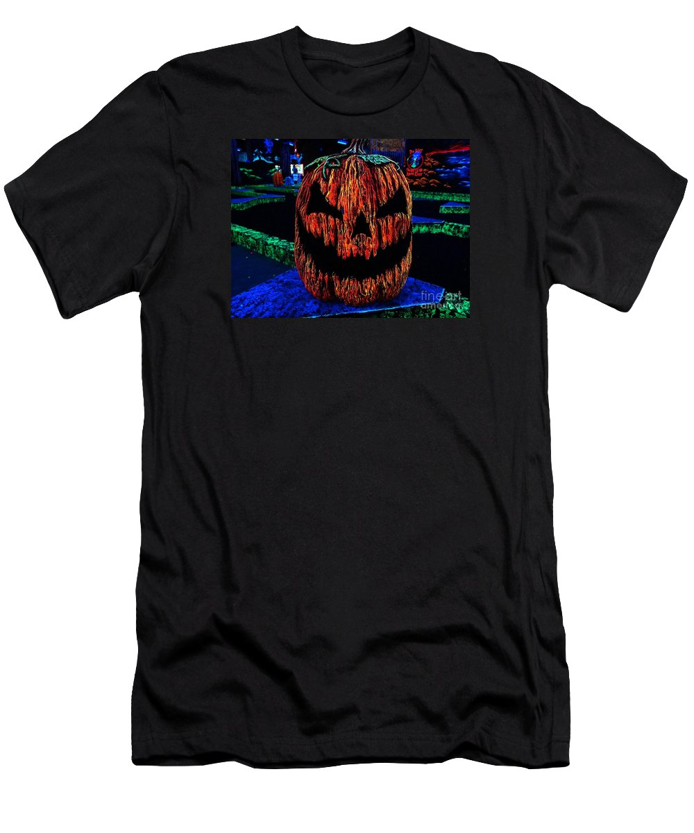 Neon Men's T-Shirt (Athletic Fit) featuring the photograph Neon Jack by Ed Weidman