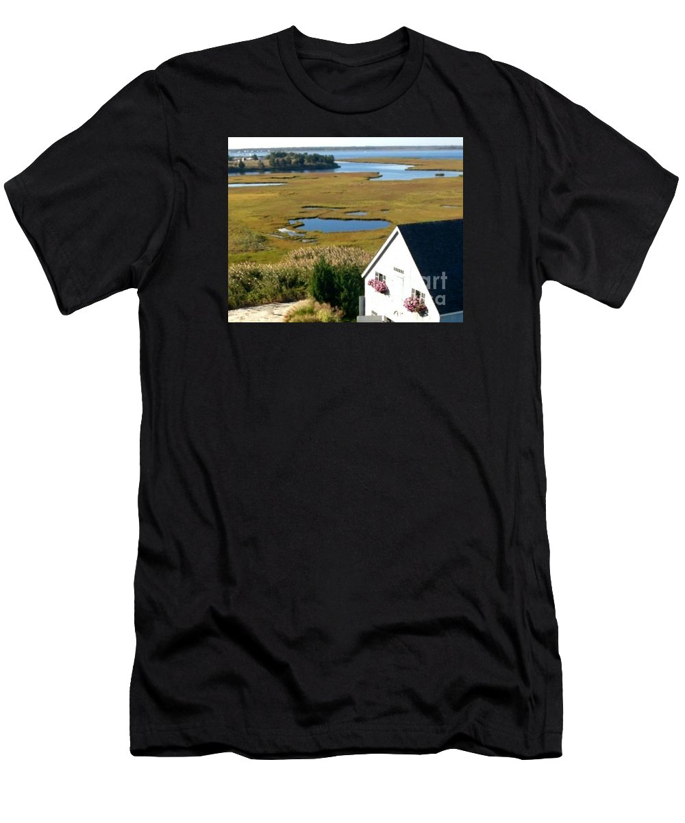 New Jersey Men's T-Shirt (Athletic Fit) featuring the photograph New Jersey's Beauty by Christy Gendalia