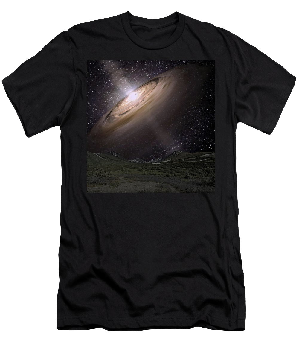 Shine Men's T-Shirt (Athletic Fit) featuring the photograph New Life by Paul Fell