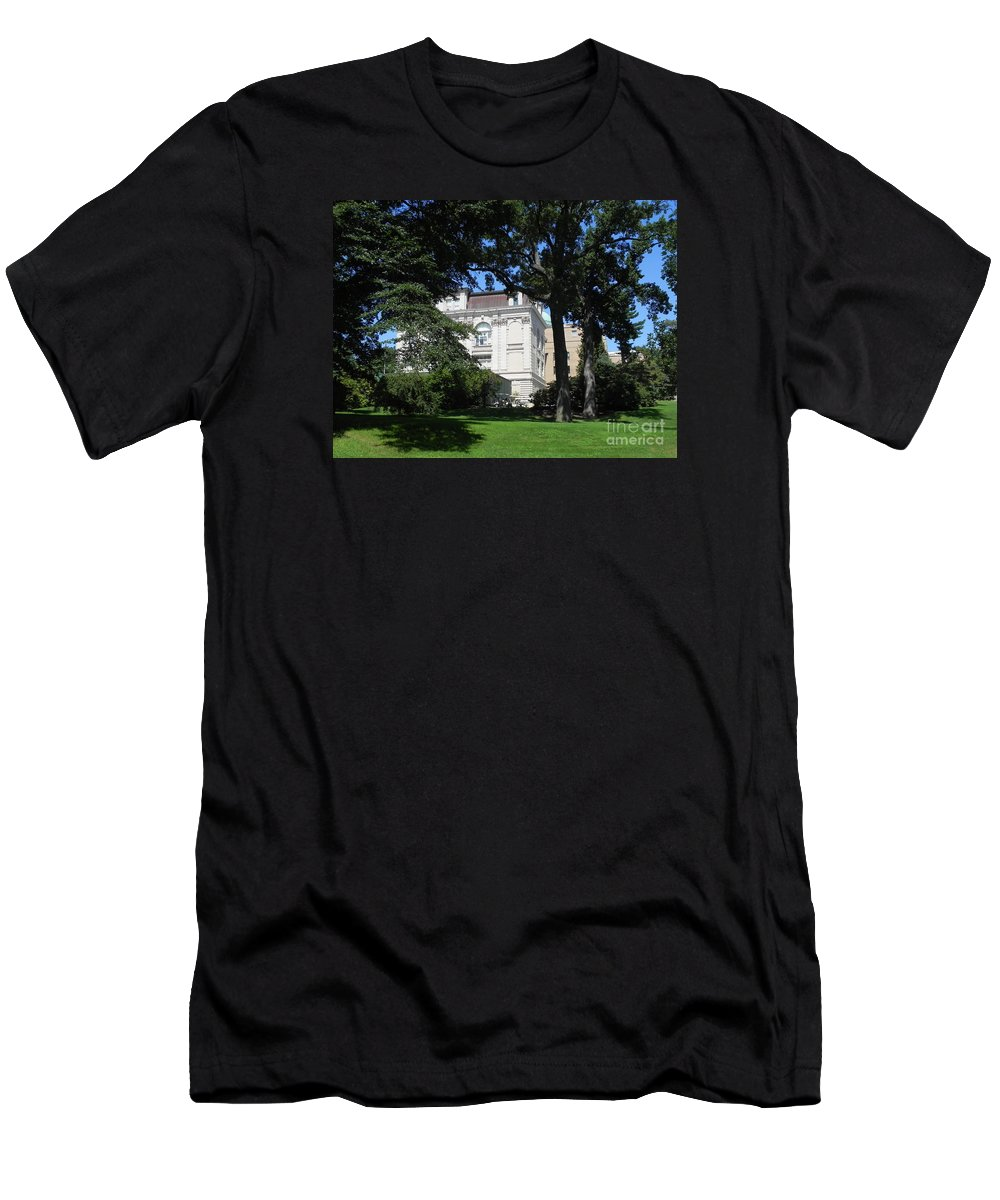Photography Men's T-Shirt (Athletic Fit) featuring the photograph New York Botanical Gardens by Chrisann Ellis