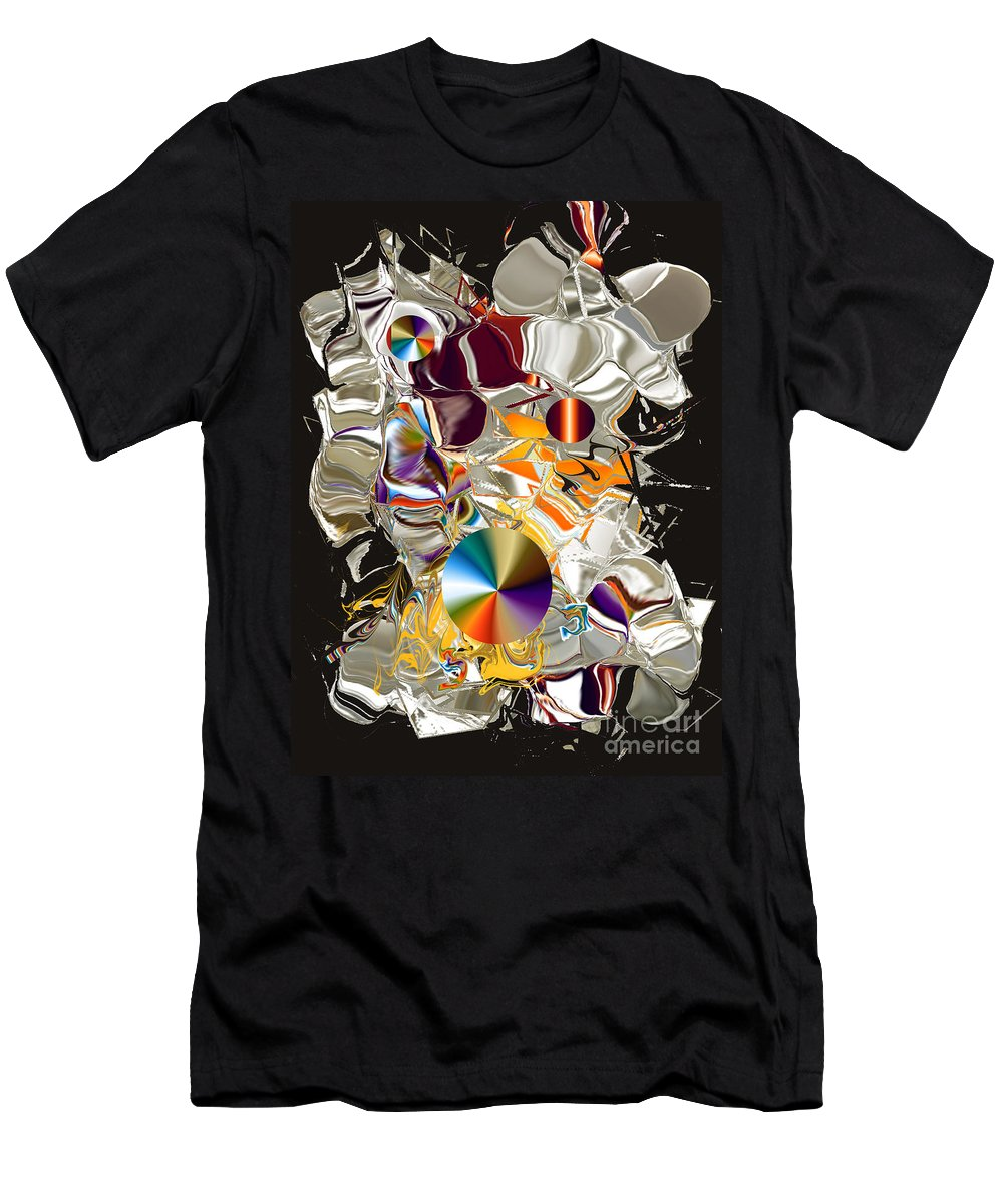 Men's T-Shirt (Athletic Fit) featuring the digital art No. 226 by John Grieder