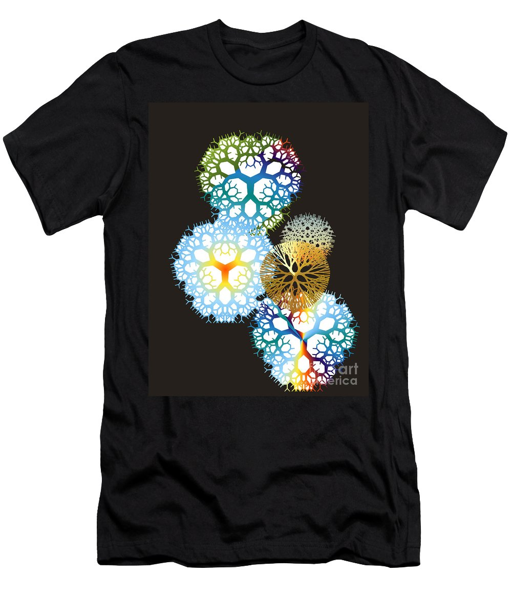 Men's T-Shirt (Athletic Fit) featuring the digital art No. 917 by John Grieder
